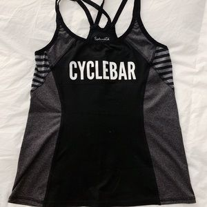 CycleBar Tank * Small w/ built in bra (no cups)